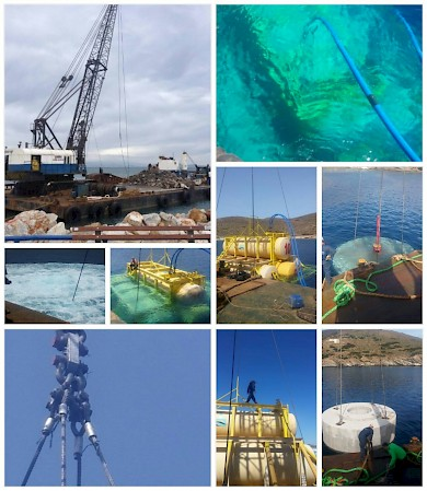 Ergomare SA participates in the realisation of a pioneer off-shore scientific project